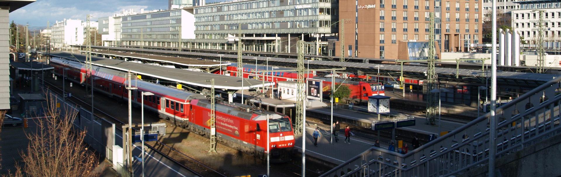 Bahnhof Freiburg (Breisgau) Hbf